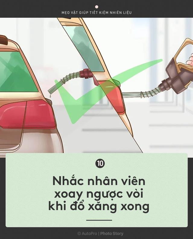 [Photo Story] Nắm được những nguyên tắc sau để lái xe ít hao xăng nhất - Ảnh 10.
