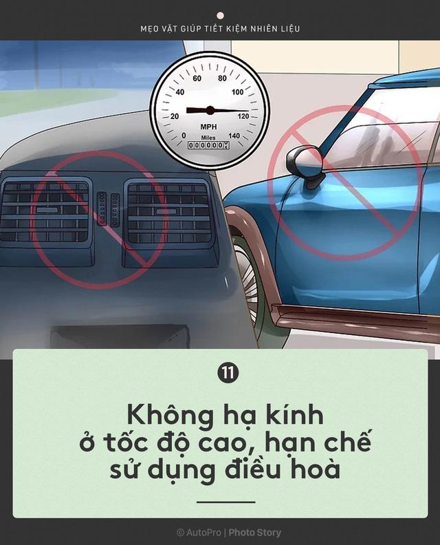 [Photo Story] Nắm được những nguyên tắc sau để lái xe ít hao xăng nhất - Ảnh 11.