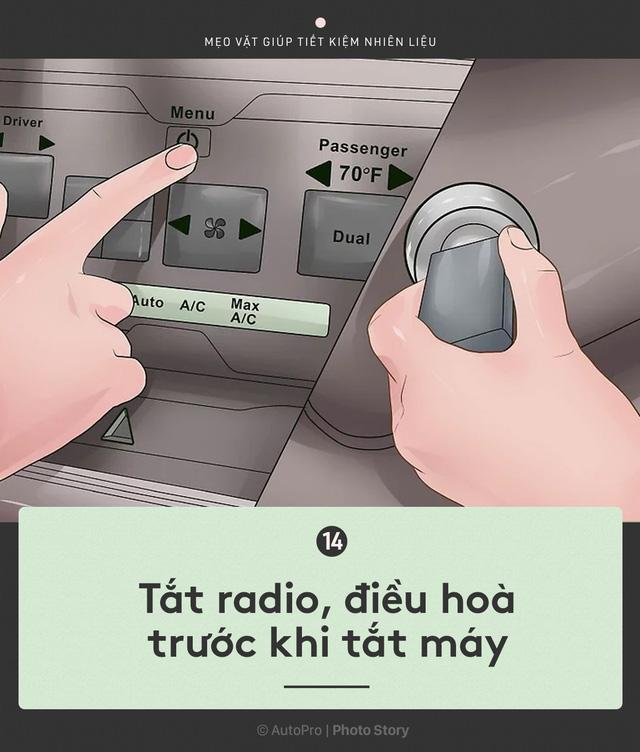 [Photo Story] Nắm được những nguyên tắc sau để lái xe ít hao xăng nhất - Ảnh 14.