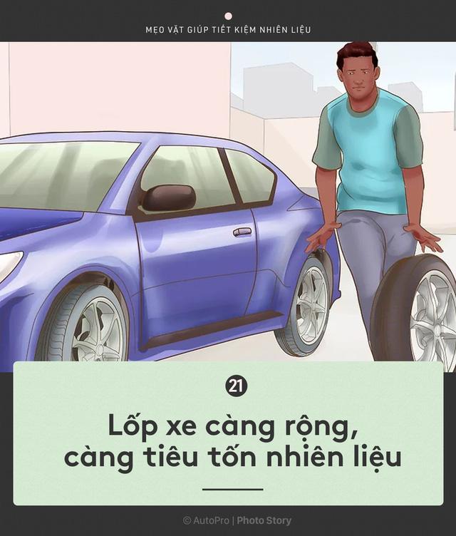 [Photo Story] Nắm được những nguyên tắc sau để lái xe ít hao xăng nhất - Ảnh 21.