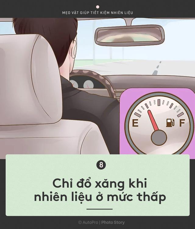 [Photo Story] Nắm được những nguyên tắc sau để lái xe ít hao xăng nhất - Ảnh 8.