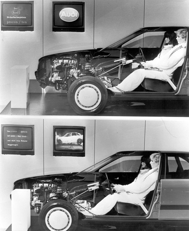 Xe an toàn không cần túi khí - Bài học của Audi cách đây 30 năm minh hoạ dễ hiểu qua hình ảnh bao diêm - Ảnh 1.