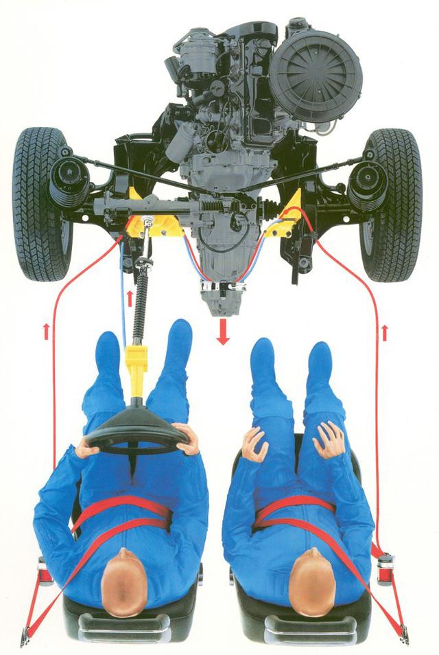 Xe an toàn không cần túi khí - Bài học của Audi cách đây 30 năm minh hoạ dễ hiểu qua hình ảnh bao diêm - Ảnh 2.