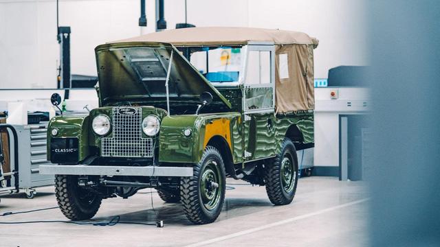 Đây là kho tàng xe cổ bí mật của Jaguar Land Rover - Ảnh 10.