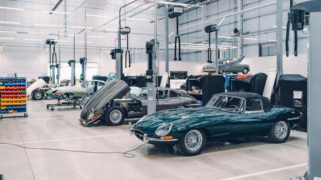 Đây là kho tàng xe cổ bí mật của Jaguar Land Rover - Ảnh 19.