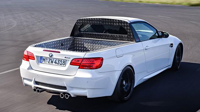 Đâu chỉ Honda Civic, BMW M3 và các mẫu xe khác cũng có phiên bản bán tải mạnh nhất thế giới