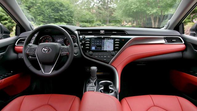 Toyota Camry XSE 2018 bản Mỹ về Việt Nam sẽ có giá dự kiến hơn 2,6 tỷ đồng - Ảnh 7.