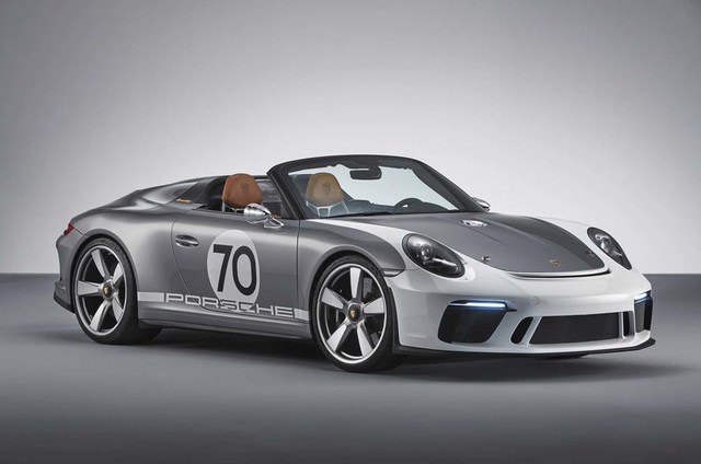 Ra mắt Porsche 911 Speedster - Hình ảnh xem trước của hậu duệ 991 - Ảnh 1.