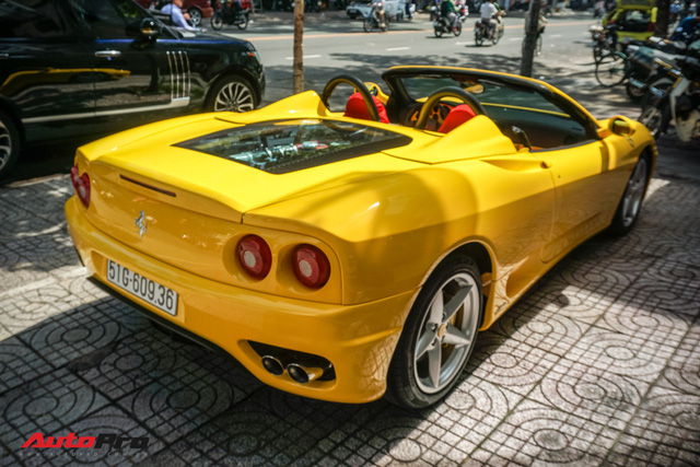 """Hàng hiếm Ferrari F360 Spider """"hồi sinh"""" dưới bàn tay dân chơi siêu xe Sài Gòn - Ảnh 8."""