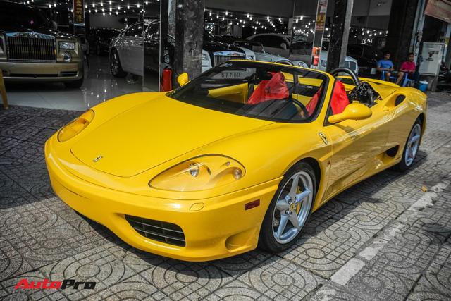 """Hàng hiếm Ferrari F360 Spider """"hồi sinh"""" dưới bàn tay dân chơi siêu xe Sài Gòn - Ảnh 6."""