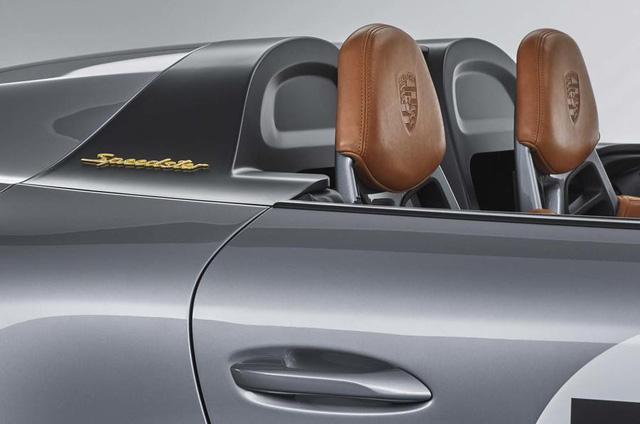 Ra mắt Porsche 911 Speedster - Hình ảnh xem trước của hậu duệ 991 - Ảnh 8.