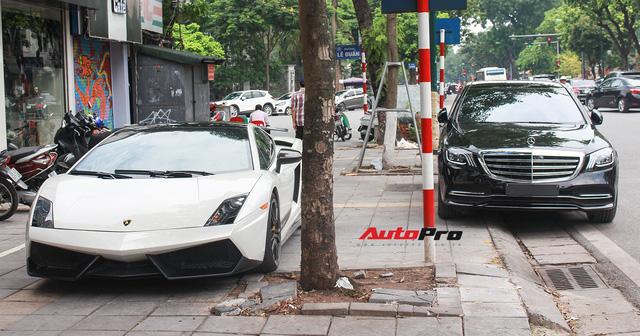 Vừa ra mắt, Mercedes-Benz S450 L 2018 đã lăn bánh trên đường, cặp cùng Lamborghini độc nhất Việt Nam - Ảnh 3.