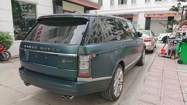 Range Rover SVAutobiography màu siêu độc về tay đại gia Hải Phòng - Ảnh 1.