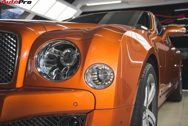 Chiêm ngưỡng Bentley Mulsanne Speed màu cam độc nhất vô nhị tại Việt Nam - Ảnh 4.
