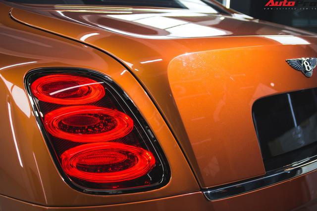 Chiêm ngưỡng Bentley Mulsanne Speed màu cam độc nhất vô nhị tại Việt Nam - Ảnh 5.