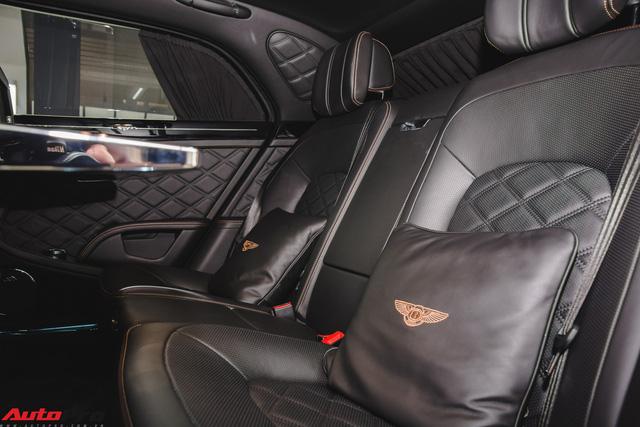 Chiêm ngưỡng Bentley Mulsanne Speed màu cam độc nhất vô nhị tại Việt Nam - Ảnh 10.