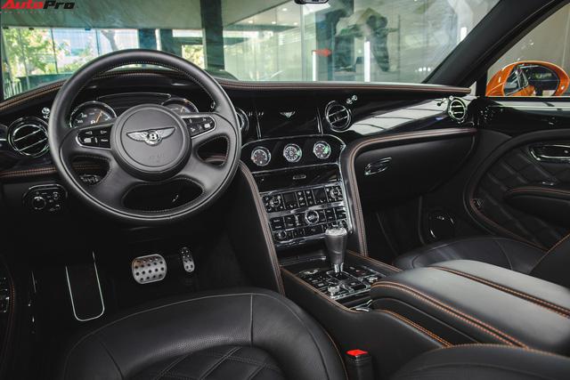 Chiêm ngưỡng Bentley Mulsanne Speed màu cam độc nhất vô nhị tại Việt Nam - Ảnh 3.