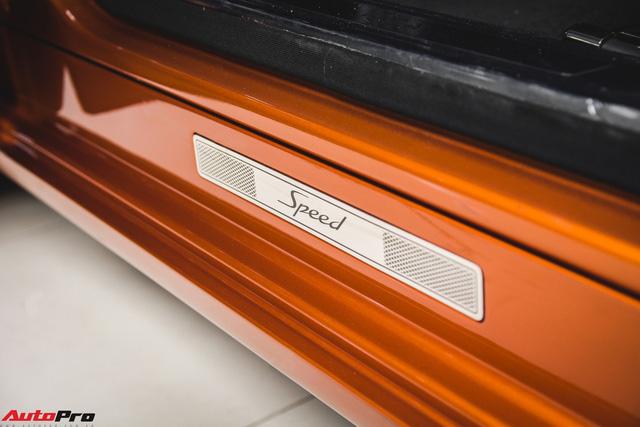 Chiêm ngưỡng Bentley Mulsanne Speed màu cam độc nhất vô nhị tại Việt Nam - Ảnh 2.
