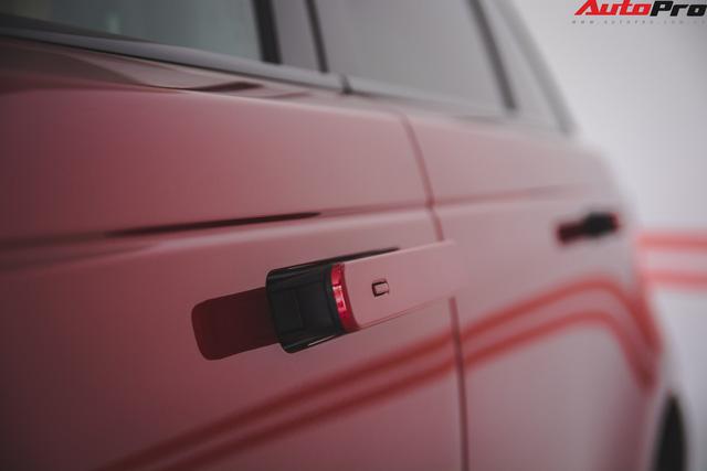 Soi kĩ Range Rover Velar màu đỏ đầu tiên của Việt Nam - Ảnh 9.