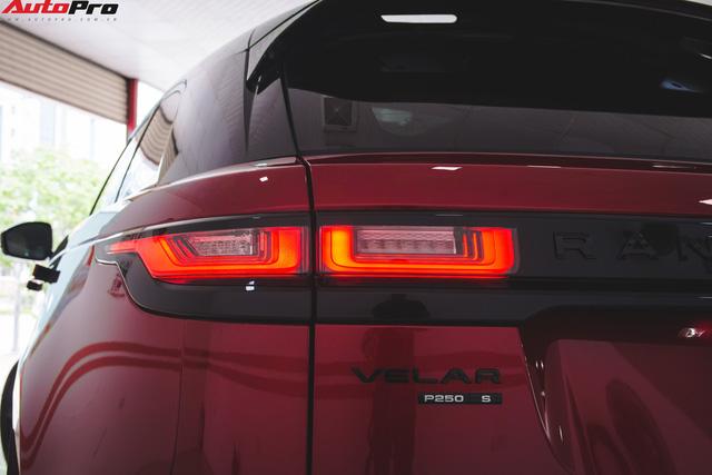 Soi kĩ Range Rover Velar màu đỏ đầu tiên của Việt Nam - Ảnh 5.