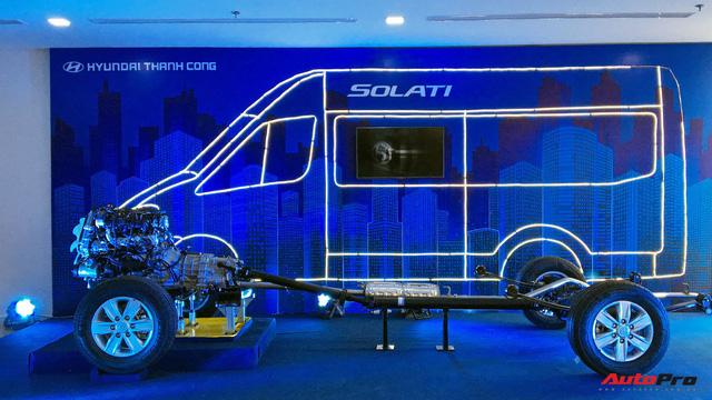 Chênh hơn 160 triệu đồng, Hyundai Solati có gì vượt trội hơn Ford Transit để chiều thượng đế Việt? - Ảnh 3.