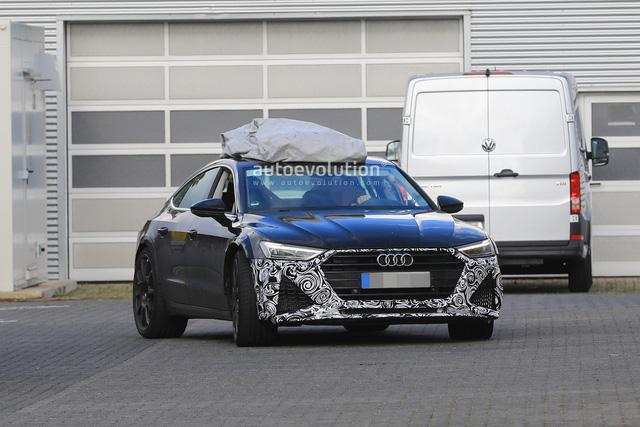 Audi mang RS7 Sportback 2019 mới tới Nurburgring chạy thử - Ảnh 1.