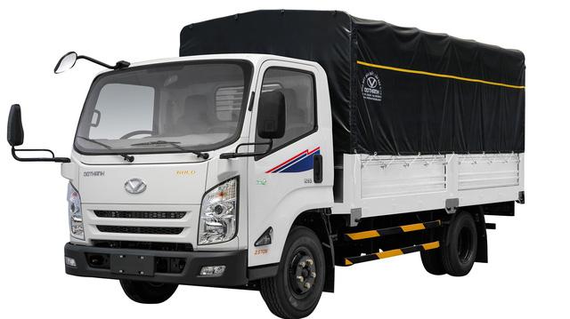 Mẫu xe tải này sẽ hạn chế điểm mù khi di chuyển trên đường phố Việt