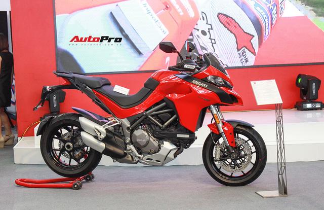 Ducati công bố giá sốc hàng loạt xe phân khối lớn: Panigale V4 dưới 1 tỷ đồng - Ảnh 1.