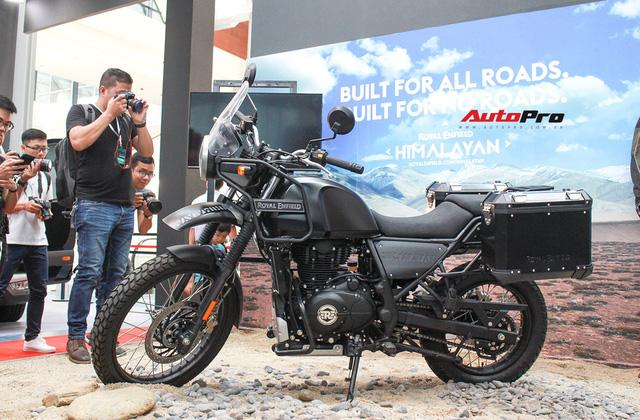 Royal Enfield Himalayan ra mắt Việt Nam, giá 131,7 triệu đồng - Ảnh 2.