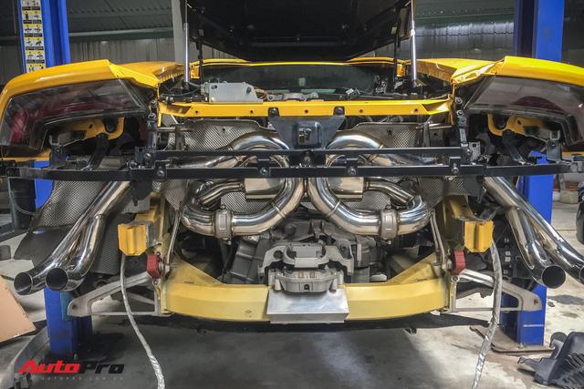 Lamborghini Huracan độ Mansory từng của Cường Đô-la đổi pô FI trị giá ngang một chiếc Kia Morning van - Ảnh 8.