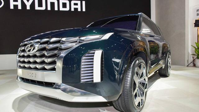 Hyundai giới thiệu SUV 7 chỗ lớn hơn Santa Fe, cạnh tranh Toyota Prado - Ảnh 2.