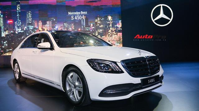 Mercedes-Benz Việt Nam chính thức ra mắt bộ ba S 450 mới với giá từ gần 4,2 tỷ đồng