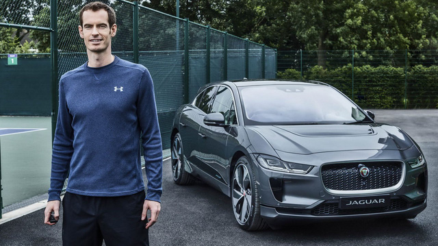 Ngôi sao quần vợt Andy Murray tậu Jaguar I-Pace