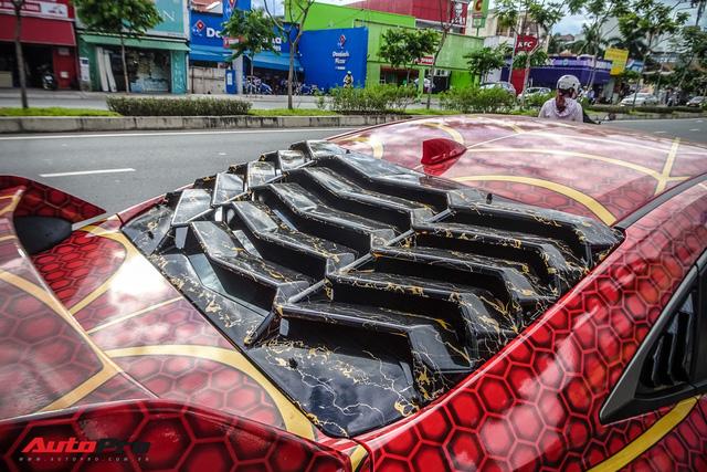 Chiều con nhỏ, ông bố tại Sài Gòn độ Honda Civic Turbo theo phong cách người nhện - Ảnh 12.