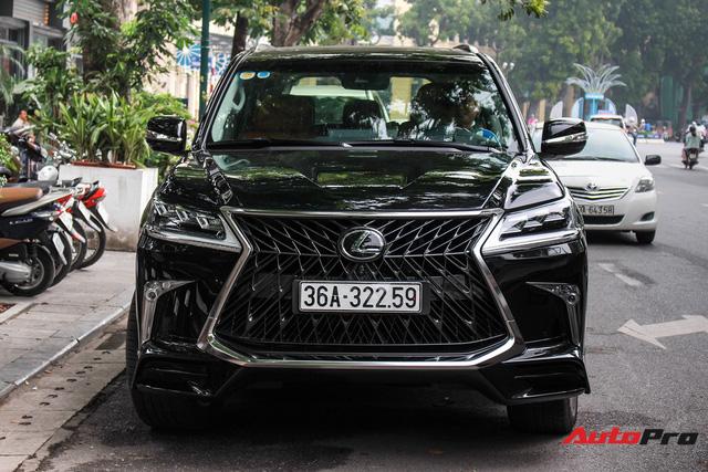 Lexus LX570 Super Sport 2018 trị giá gần 11 tỷ đồng của đại gia Thanh Hóa - Ảnh 5.