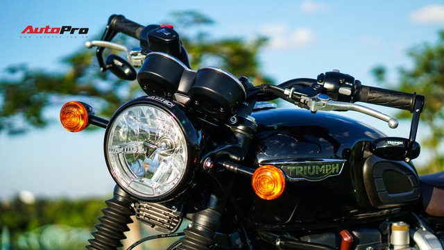 Đánh giá Triumph Bonneville T120: Khi tiền bạc quyết định tình yêu - Ảnh 4.