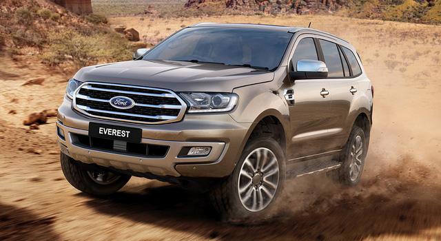 Ford Everest 2018 ra mắt Thái Lan, chờ ngày bán tại Việt Nam - Ảnh 1.