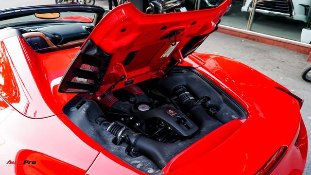 Ferrari 488 Spider kí gửi tại showroom xe cũ Hà Nội với giá ngang Mercedes-Maybach S500 - Ảnh 10.