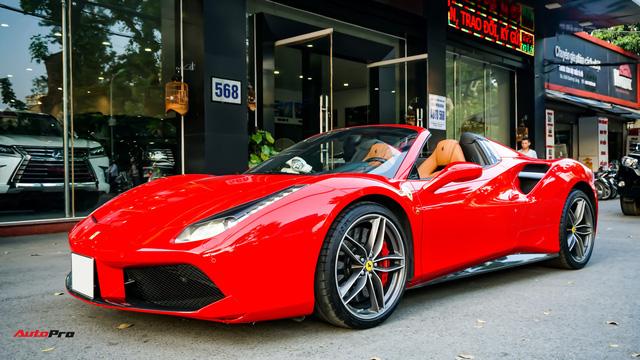 Ferrari 488 Spider kí gửi tại showroom xe cũ Hà Nội với giá ngang Mercedes-Maybach S500 - Ảnh 26.
