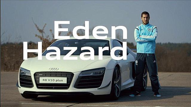 Bộ sưu tập xế khủng của ngôi sao tuyển Bỉ Eden Hazard