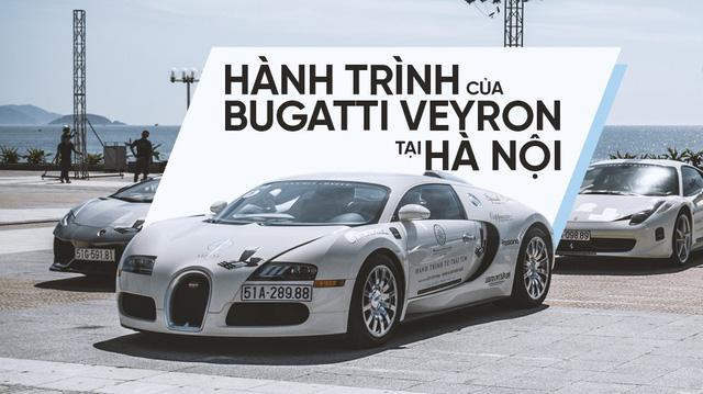 """Muốn """"săn"""" Bugatti Veyron tại Hà Nội thì chờ ở những tuyến phố nào?"""