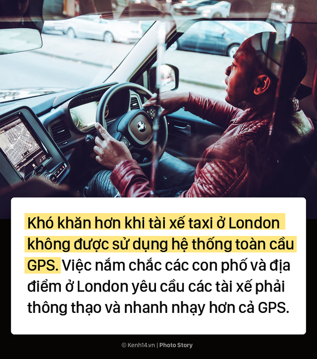 London: Trở thành tài xế taxi khó khăn như thể đi thi đại học - Ảnh 5.