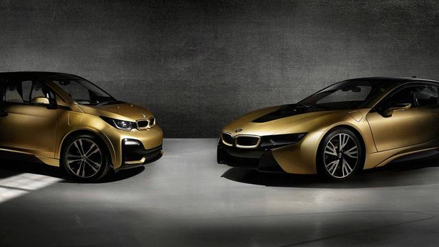 BMW tung bản đặc biệt cho i3 và i8 dát vàng 24 carat - Ảnh 1.