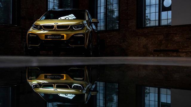 BMW tung bản đặc biệt cho i3 và i8 dát vàng 24 carat - Ảnh 5.