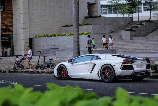 Lamborghini Aventador độ Novitec độc nhất Việt Nam đi đóng MV - Ảnh 6.