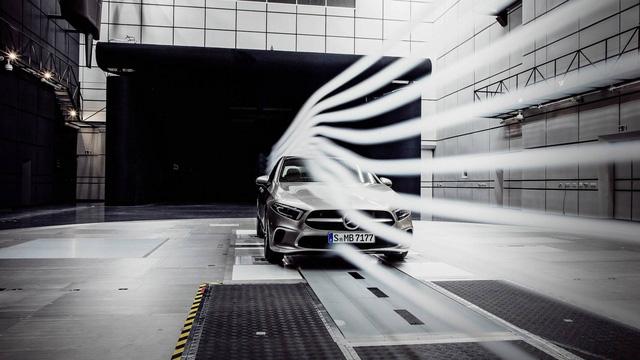 Xe cản gió ít nhất thế giới sắp ra mắt: Mercedes-Benz A-Class sedan - Ảnh 1.
