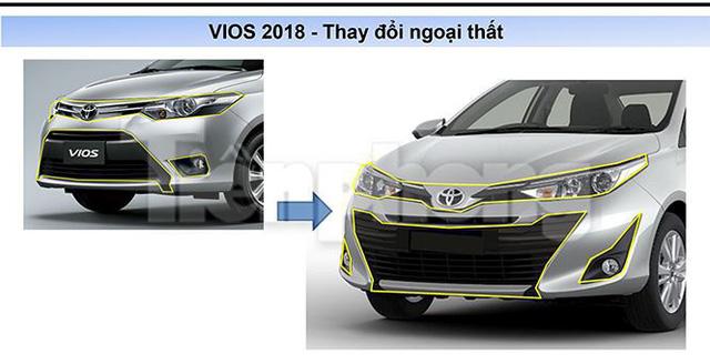 Toyota Vios 2018 lộ thông số kỹ thuật, lăn bánh ở Hà Nội - Ảnh 4.