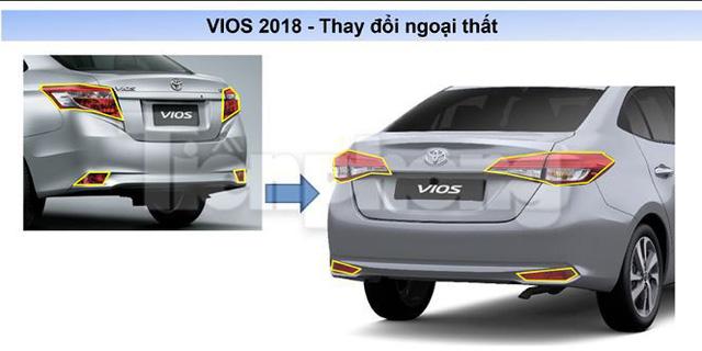 Toyota Vios 2018 lộ thông số kỹ thuật, lăn bánh ở Hà Nội - Ảnh 6.