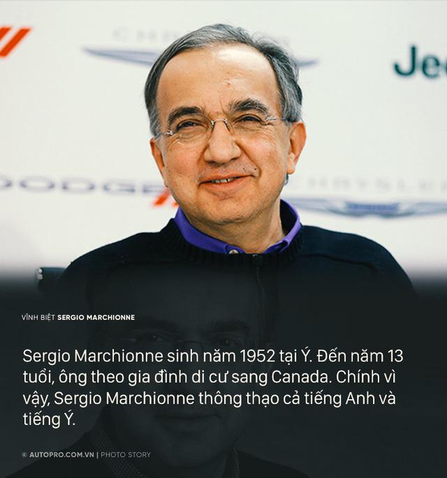 Sergio Marchionne - Cuộc đời từ nhân viên kế toán tới Giám đốc điều hành Ferrari - Ảnh 1.
