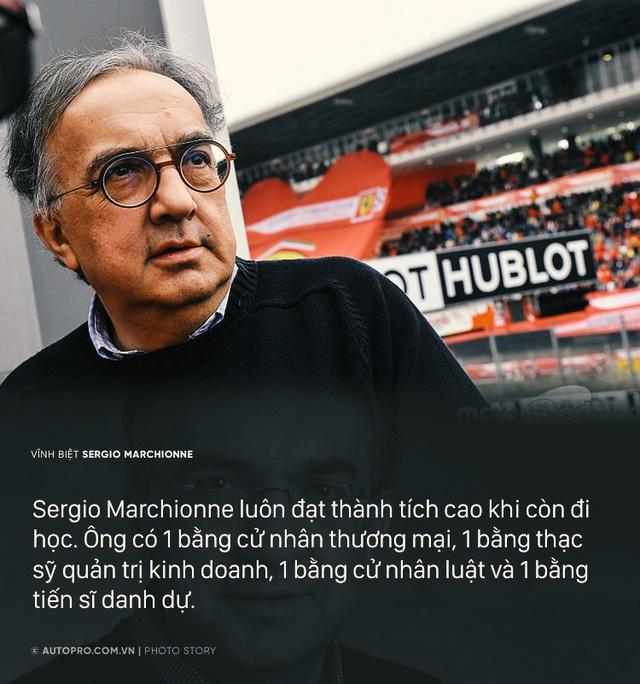 Sergio Marchionne - Cuộc đời từ nhân viên kế toán tới Giám đốc điều hành Ferrari - Ảnh 2.